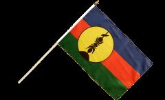 Bandiera da asta Francia Nuova Caledonia Kanaky