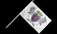Bandiera da asta Francia Saint-Barthélemy