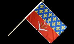 Bandiera da asta Francia Seine-Saint-Denis