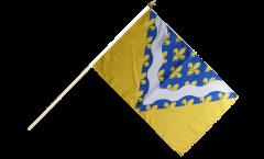 Bandiera da asta Francia Valle della Marne