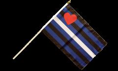 Bandiera da asta Gay Pride Leather