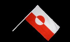 Bandiera da asta Groenlandia