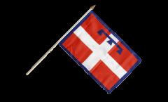 Bandiera da asta Italia Piemonte