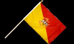 Bandiera da asta Italia Sicilia