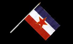 Bandiera da asta Yugoslavia vecchia