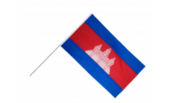 Bandiera da asta Cambogia