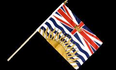 Bandiera da asta Canada Columbia Britannica