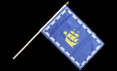 Bandiera da asta Canada Quebec città