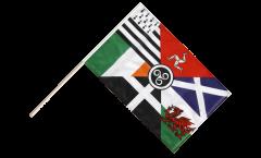 Bandiera da asta Nazioni celtiche