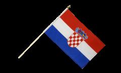 Bandiera da asta Croazia