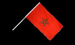 Bandiera da asta Marocco