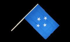Bandiera da asta Stati federali di Micronesia