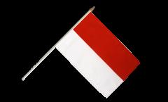 Bandiera da asta Principato di Monaco