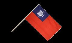 Bandiera da asta Myanmar 1974-2010