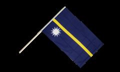 Bandiera da asta Nauru