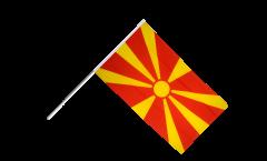 Bandiera da asta Macedonia del Nord
