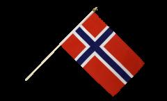 Bandiera da asta Norvegia