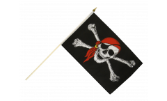 Bandiera da asta Pirata con bandana