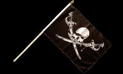 Bandiera da asta Pirata con sciabola