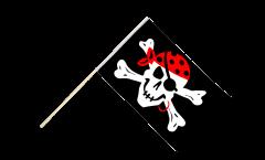 Bandiera da asta Pirata one eyed Jack