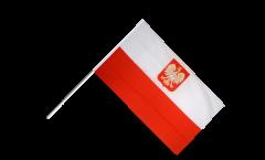 Bandiera da asta Polonia con aquila
