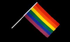 Bandiera da asta Arcobaleno