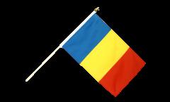 Bandiera da asta Romania