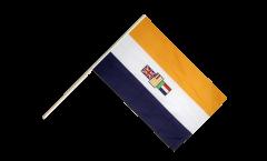 Bandiera da asta Sudafrica vecchia