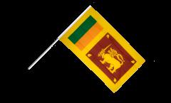 Bandiera da asta Sri Lanka