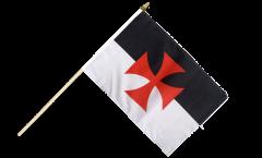 Bandiera da asta Templari