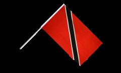Bandiera da asta Trinidad e Tobago
