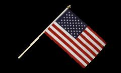 Bandiera da asta USA