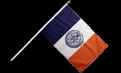 Bandiera da asta USA New York CITY