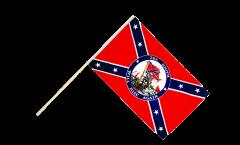Bandiera da asta USA Stati del Sud South will rise again