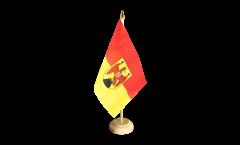 Bandiera da tavolo Austria Burgenland