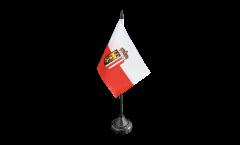 Bandiera da tavolo Austria Alta Austria