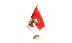 Bandiera da tavolo Austria Salisburghese