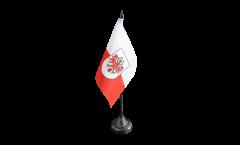 Bandiera da tavolo Austria Tirolo
