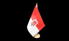 Bandiera da tavolo Austria Vorarlberg