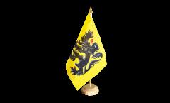 Bandiera da tavolo Belgio Fiandre