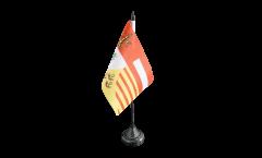 Bandiera da tavolo Belgio Provincia di Liegi