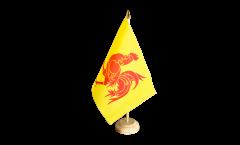 Bandiera da tavolo Belgio Vallonia
