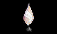 Bandiera da tavolo Bienvenue
