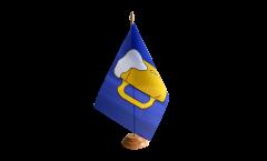 Bandiera da tavolo Birra