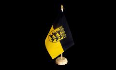 Bandiera da tavolo Germania Baden-Württemberg