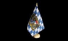 Bandiera da tavolo Germania Baviera Freistaat Bayern