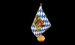 Bandiera da tavolo Germania Baviera con leone