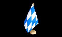 Bandiera da tavolo Germania Baviera senza stemmi