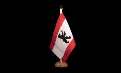 Bandiera da tavolo Germania Berlino