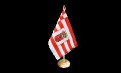 Bandiera da tavolo Germania Brema